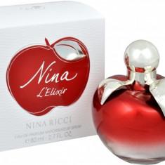 Nina Ricci Nina L'elixir eau de parfum 80 ml, 100% original - Parfum femeie Nina Ricci, Apa de parfum