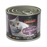 Conservă pentru pisici Leonardo - cu carne de iepure 200 g - Hrana pisici