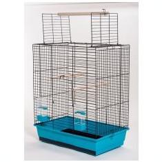 Cuşcă pentru papagali ARA black - 54 x 34 x 68, 5 cm - Cusca, cotet, tarc si colivie