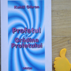 Profetul Gradina Profetului Kahlil Gibran - Carti Islamism