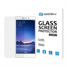 Folie sticla Xiaomi RedMi 4 Pro tempered glass Odzu 2 Pack - Folie de protectie