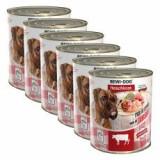 Nou Conservă BEWI DOG – Beef Tripe - 6 x 800g, 5+1 GRATUIT - Hrana caine