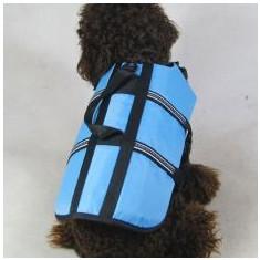Vestă de salvare pentru câine – bleu, M - Vesta salvare