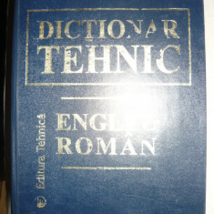 Dictionar tehnic englez - roman - 1997