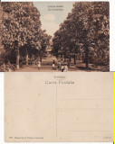 Campulung Muscel (Arges)- Gradina Publica- rara, Circulata, Printata