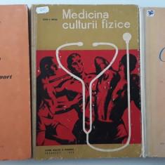 Adrian Ionescu - Lot de trei carti - Masaj / Medicina / Gimnastica - Carte Recuperare medicala