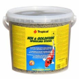 TROPICAL Koi & Goldfish spirulina sticks - 5l /450g - Hrana peste si reptila