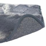 Covoraş gri călduros pentru câini - 100x75cm