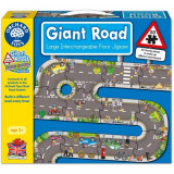 Puzzle Gigant de Podea Traseu Masini 20 Piese, orchard toys