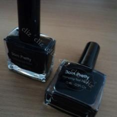 Oja speciala Born Pretty Neagra pentru matrita de unghii