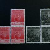"""ROMANIA  -  """" LUPTA  pentru  P A C E """" , 1950,MNH, Nestampilat"""