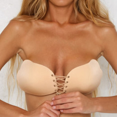 Sutien Sexy Invizibil Push up Silicon Auto Adeziv