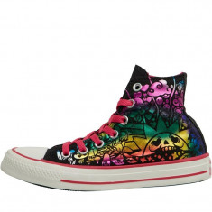 Adidasi tenisi dama CONVERSE ALL STAR Hi Tattoo ORIGINALI masura 35, Culoare: Din imagine, Textil