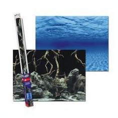 Fundal decor de acvariu ROOTS/WATERS L - 100 x 50cm