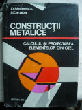 Mateescu / Caraba - Constructii metalice - 1980