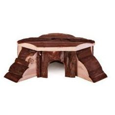 Căsuţă rozător din lemn - de colţ, 21 x 7 x 19 cm