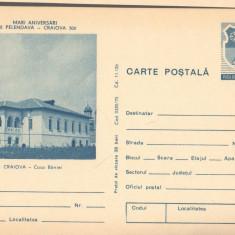 CPI (B9716) CARTE POSTALA - CASA BANIEI, ANIVERSARI 1750 PELENDAVA - CRAIOVA 500