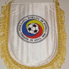 Fanion fotbal - Federatia din ROMANIA (UEFA EURO 2000) dimensiuni mari