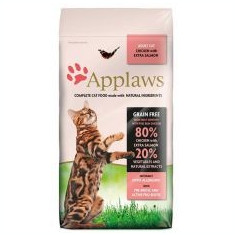 Applaws Cat Adult Chicken & Salmon 2kg - Hrana pisici