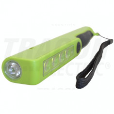 Lanternă LED cu acumulator,formă de pană.