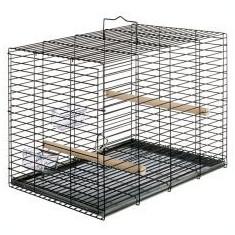 Cușcă Ferplast pentru păsări, cu accesorii 37, 5 x 40 x 51 - Papagal