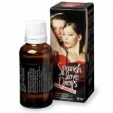 Spanish Love Dirty Dancing afrodisiac picaturi, 30ml, Afrodisiace