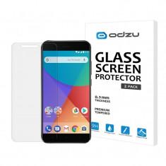 Folie sticla Xiaomi Mi A1 tempered glass Odzu 2 Pack - Folie de protectie