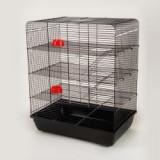 Cuşcă pentru şobolan REMY- cromat, Cusca