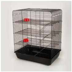 Cuşcă pentru şobolan REMY- cromat - Cusca, cotet, tarc si colivie
