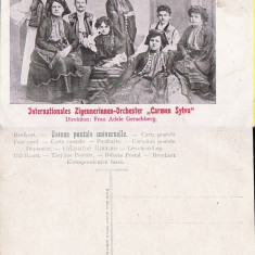 Tigani-Orchestra Carmen Sylva - rara, Bucuresti, Necirculata, Printata