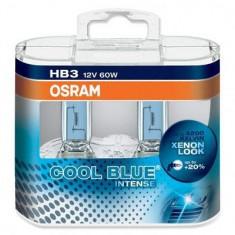 Bec Far Osram HB3 Cool Blue Intense 2 bucati Philips