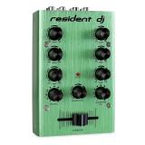2-canale DJ Mixer verde - Mixere DJ