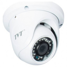 Camera dome tvi de exterior Tvt, 720p, 1mp, ir20m, carcasa metalica