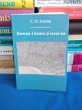 C.D. ZELETIN - DOMNU-I DOMN SI LERUI LER ( PROZE.CONVORBIRI ) - 2017