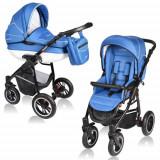 Carucior Crooner 2 in 1 Blue - Carucior copii 2 in 1
