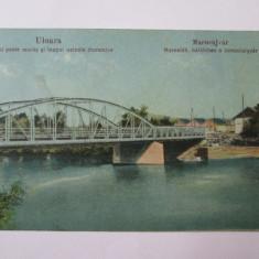 Carte postala Uioara/Ocna Mures circulata 1923 - Carte Postala Transilvania dupa 1918, Printata