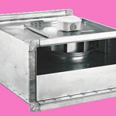 BDKF – Ventilator in line pentru tubulatura rectangulara