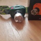 Lanterna Led cu prindere pe cap Zoom si senzor de miscare LL-6644 - 40 lei