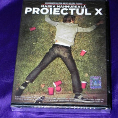DVD FILM PROIECTUL X / PROJECT X. NOU. SIGILAT. SUBTITRARE IN LIMBA ROMANA - Film comedie