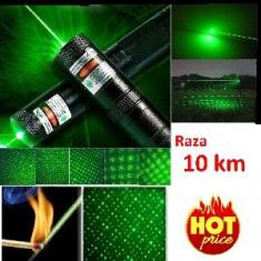 Laser Verde Pointer Acumulator 4200 mAh  Puternic Incarcator
