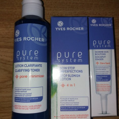 Set pt ten acneic Yves Rocher - Gel curatare