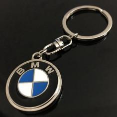 Breloc auto nou pentru BMW metalic si ambalaj cadou