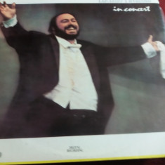 DISC VINIL LUCIANO PAVAROTTI - IN CONCERT 2 VINILURI - Muzica Opera