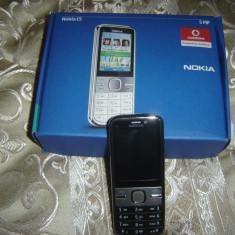 NOKIA C5 - Telefon mobil Nokia C5, Gri, Neblocat