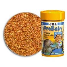 Hrană pentru broaște țestoase de apă tinere JBL ProBaby 100ml - Hrana peste si reptila