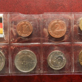 Set monede Germania 1980=1982 , lot 7 monede UNC, Europa, Bronz