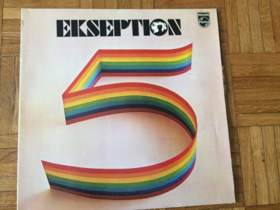 ekseption 5 album disc vinyl lp muzica symphonic jazz rock 1972 gatefold germany foto