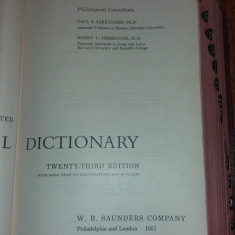 MEDICAL DICTIONARY - TWENTY-THIRD EDITION