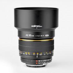 Walimex (Samyang, Rokinon) 85mm 1.4 Nikon - Obiectiv DSLR