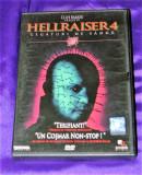 HELLRAISER 4 / LEGATURI DE SANGE nou. DVD ORIGINAL, Romana